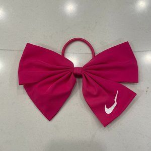 Nike bow hairtie in pink